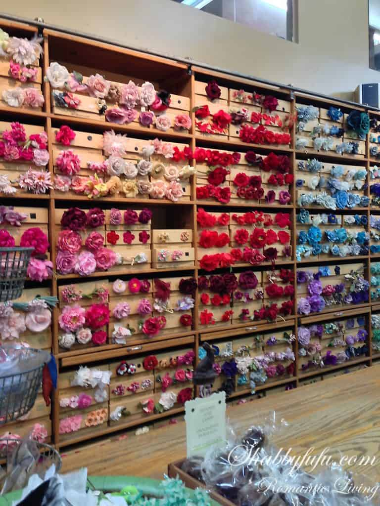 Tinsel trading new york millinery rack
