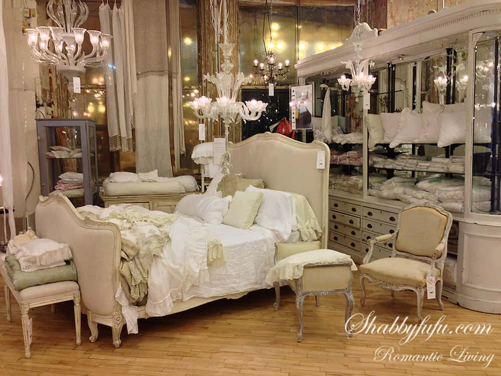 French bed at ABC carpet and home store
