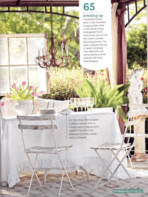 outdoor pergola romantic french style