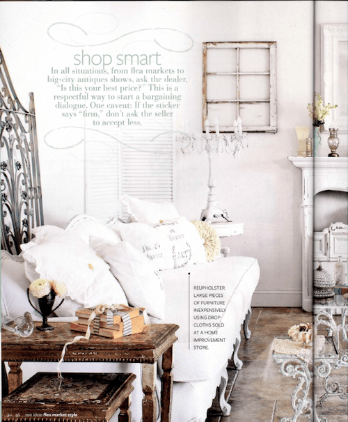 vintage style shabby chic home