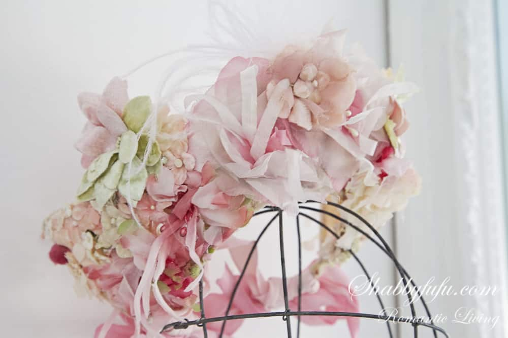 pink millinery hat
