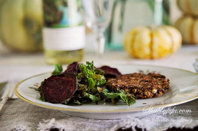 vegan-bean-burgers-kale-beet-chips