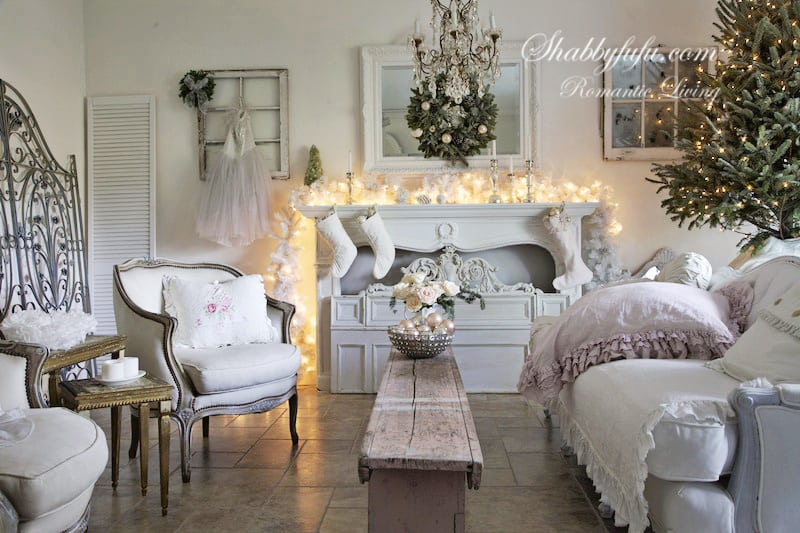 elegant pink christmas decorating ideas french