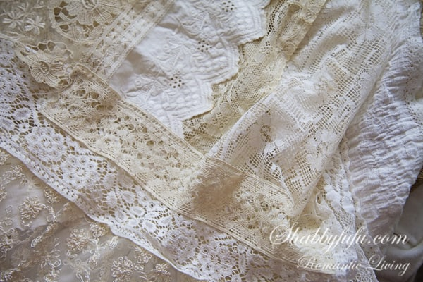 antique wedding lace