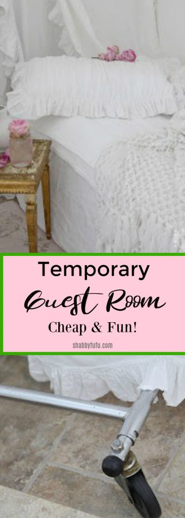 temporary guest room ideas cheap and fun