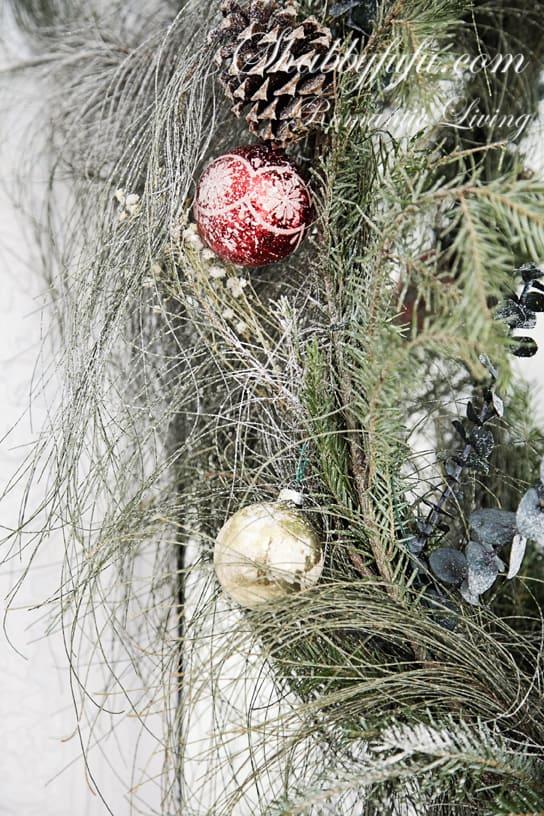 beautiful free christmas scrap greens wreath
