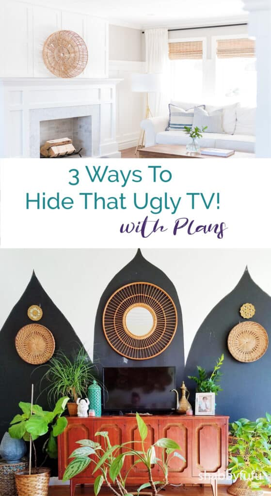 3 Ways To Hide That Ugly TV