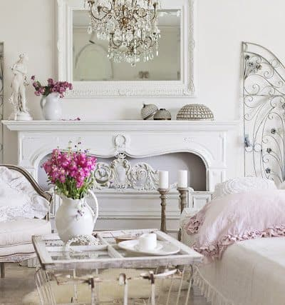 Romantic & Elegant Styling Tips And Seasonal Changes….January Living Room