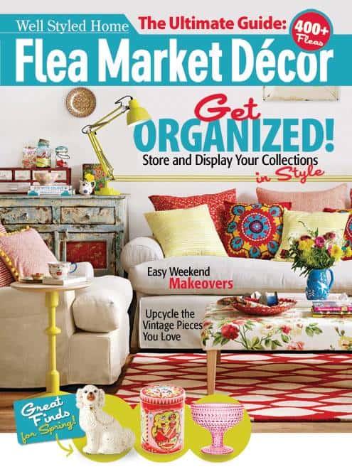 flea market decor magazine spring 2014 home shoot