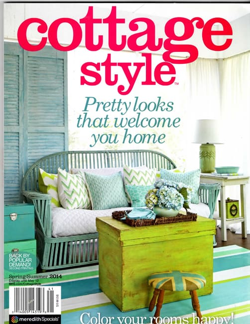 Once Again I M Pleased To Share With You That Our Home Has Been Featured In The Beautiful Cottage Style Magazine Is Put Out By Meredith Publishing