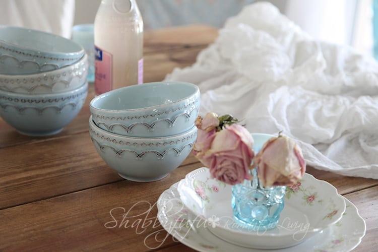 Aqua Inspiration In Spring Decor Shabbyfufu Com