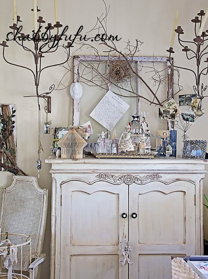 French country decor in Texas - design studio inspiration wall