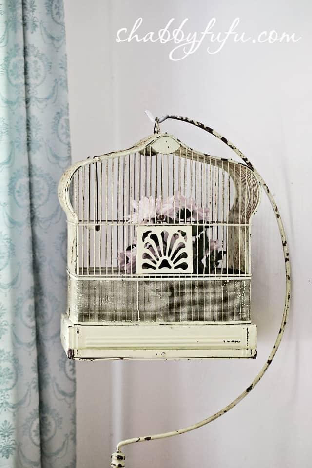 vintage birdcage spring
