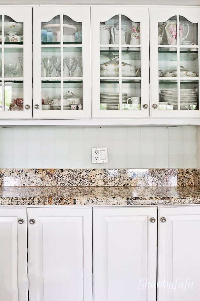 seaglass kitchen backsplash tile