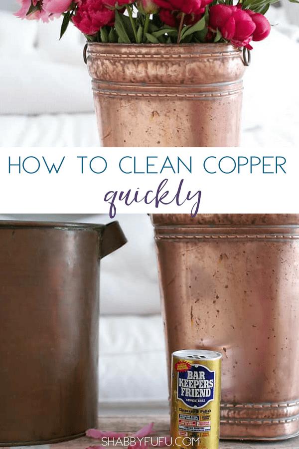 clean copper quickly hack