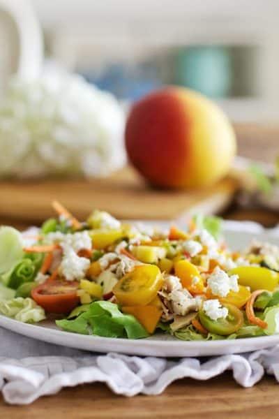 Tropical Mango Salad For Summer