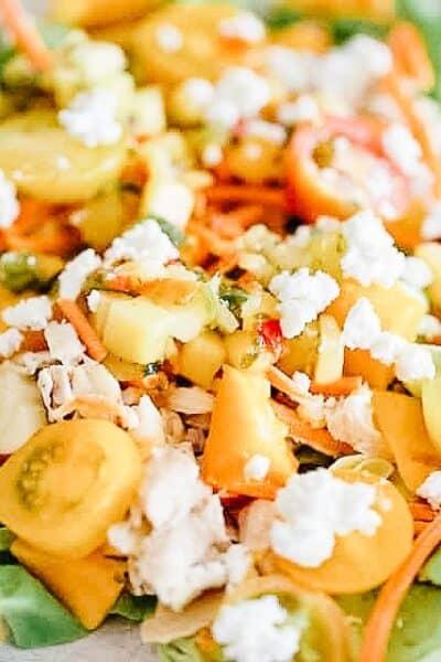 mango summer salad