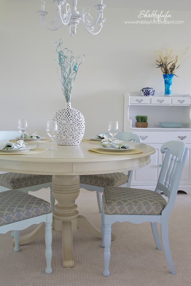 The Sanibel design project is complete - here as a sneak peek of the finished dining room design!