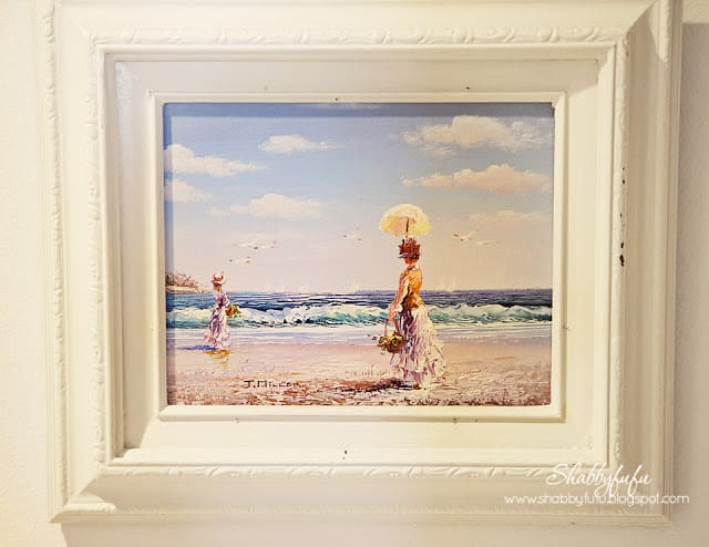 impressionist painting reproduction beach