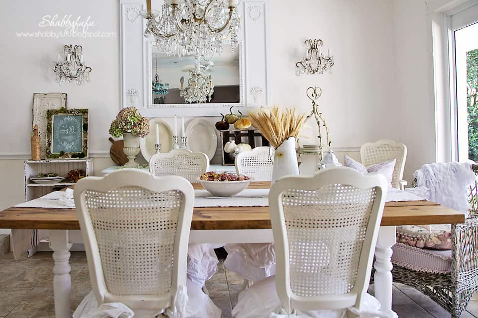 Adding Some Fall Vignettes Into Your Home Here Is My Dining Room