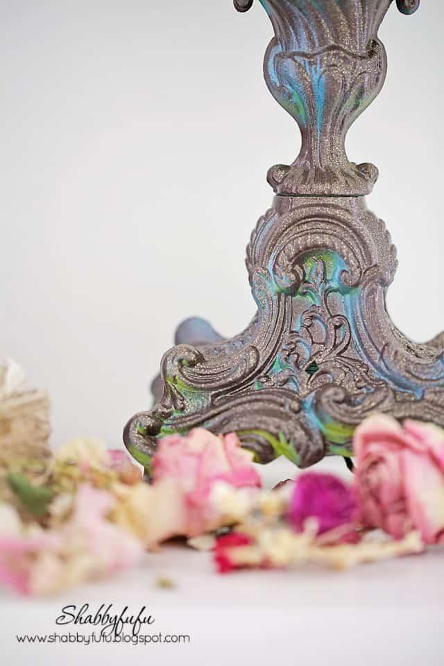candelabra close up