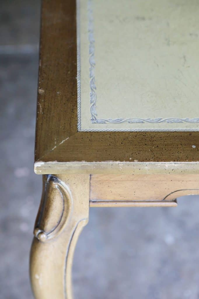 card table with leather top diy