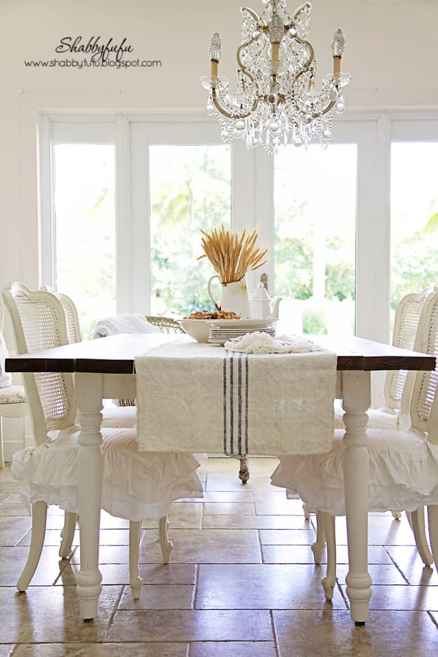 Beautiful French Farmhouse Dining Room