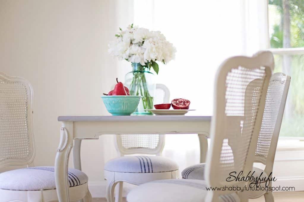 vintage french dining set