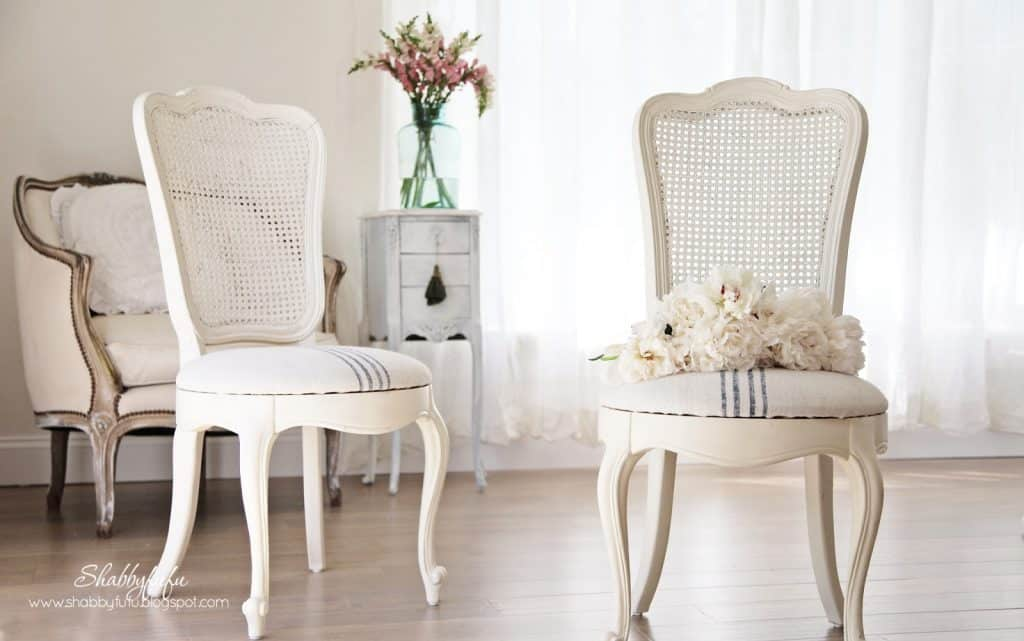 french cane chairs