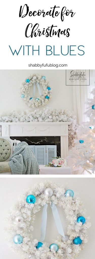 coastal christmas bedroom decorating aqua and blue shabbyfufublogcom