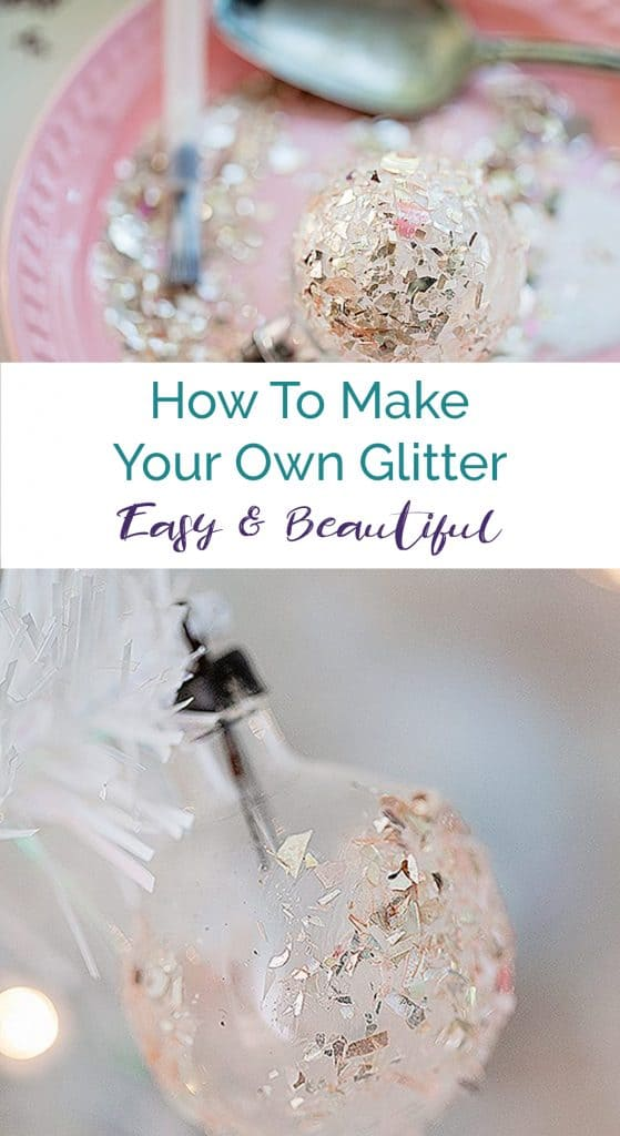 how to make glitter easy diy hack