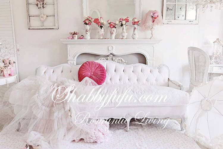 decorating with white - this white shoot is accented with pops of pinks for a bright and flirty Valentine's Day shoot