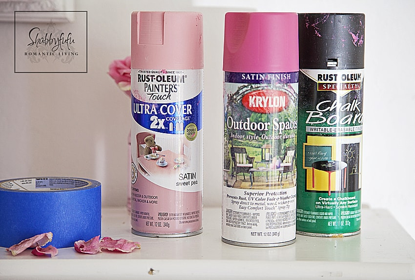 spray paint for mason jars