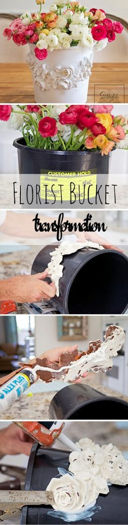 flower bucket transformation