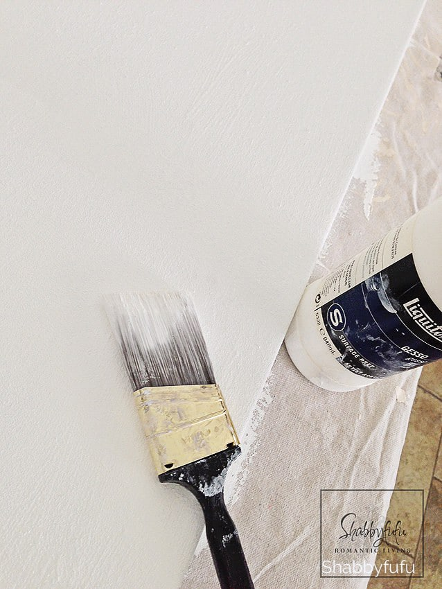 painters drop cloth preparation