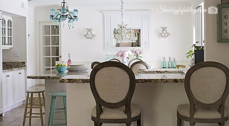 summer decorating shabby chic style