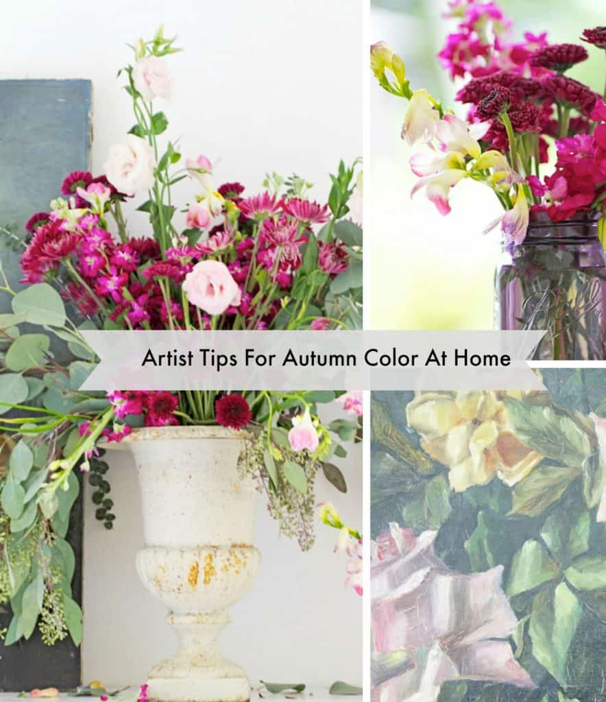 artist tips for fall color
