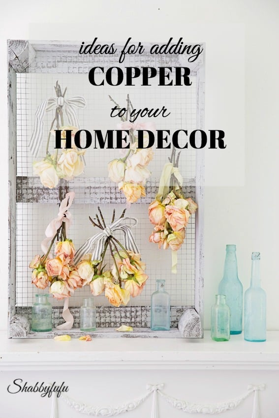 Ideas and tips for adding copper to your home decor for fall