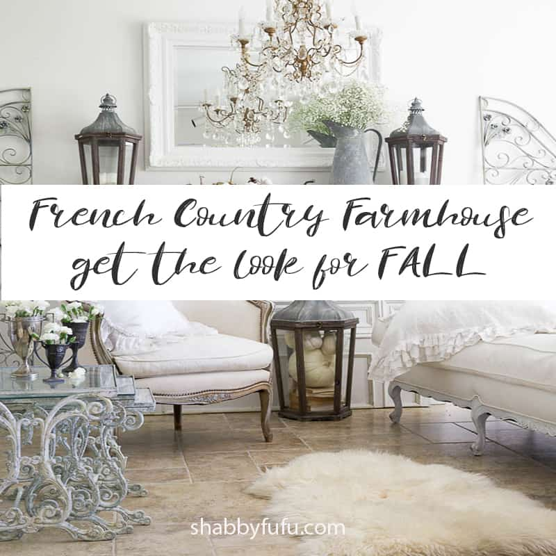 Fall Country Decorating Ideas: French Country Fall Decorating Ideas