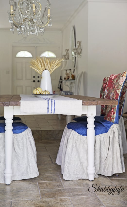 Chair Slipcovers Are Such A Great Way To Change The Look Of A Room, And You  Donu0027t Have To Have Lots Of Extra Chairs Around To Store!