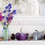 The Best Elegant Jewel Tone Mantel Ideas For Autumn Decorating