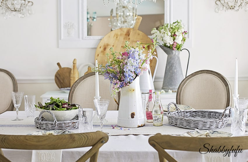 French style dining room - tips for living a healthy lifestyle