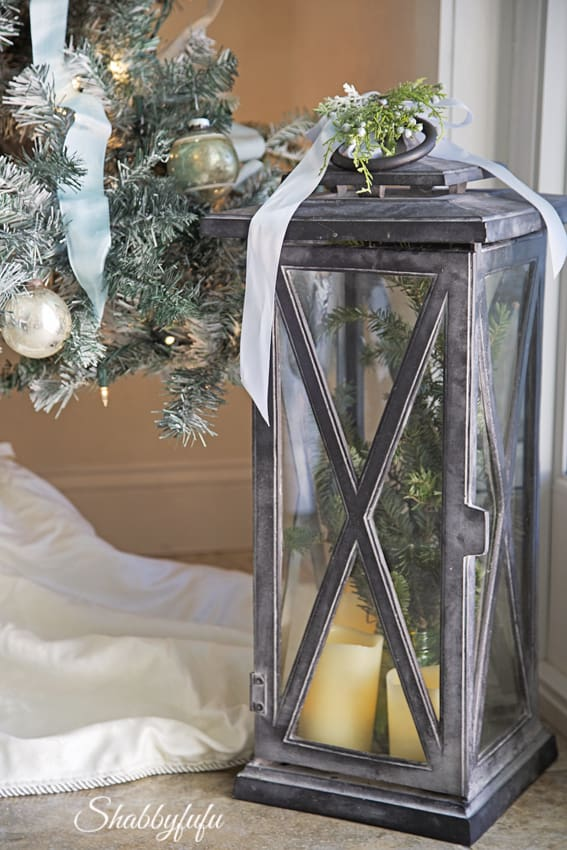 restoration hardware lanterns christmas
