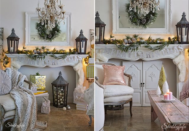 pink christmas ideas