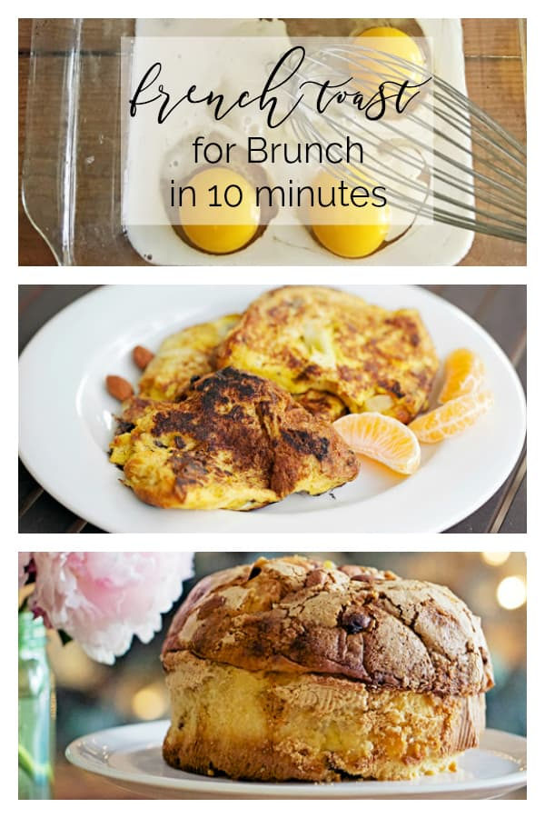 Christmas Morning Panettone French Toast Recipe - pin