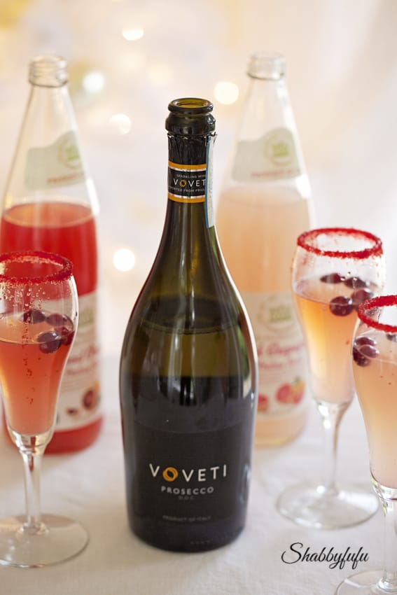 pink prosecco cocktail recipes