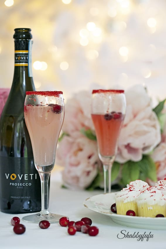 pink prosecco recipe christmas