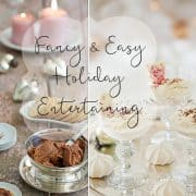 Easy Yet Ultra Decadent – Holiday Entertaining Recipes