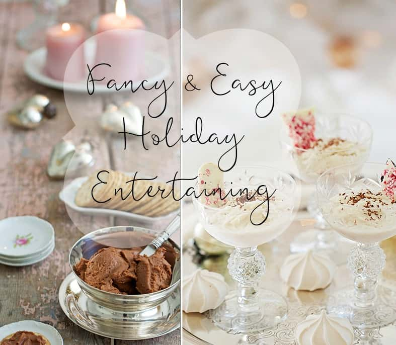 fancy holiday recipes entertaining