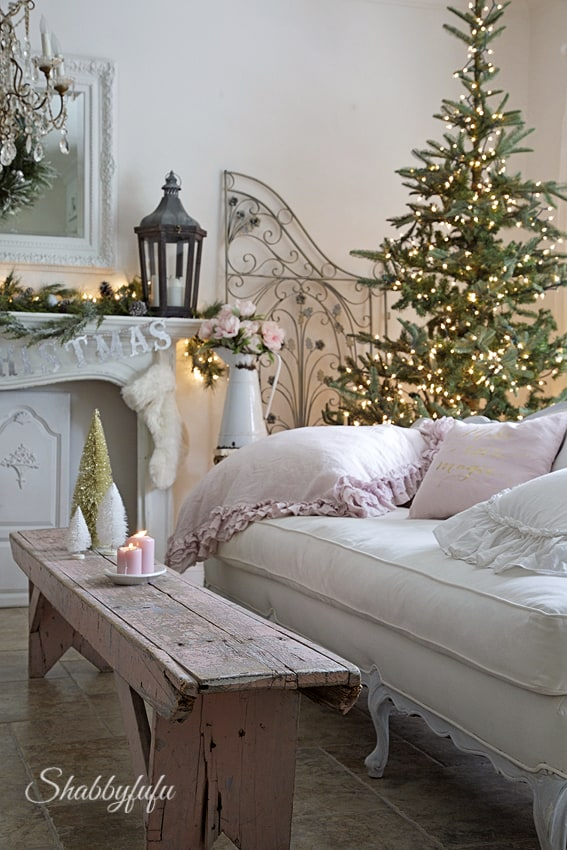 how to create a romantic christmas decor
